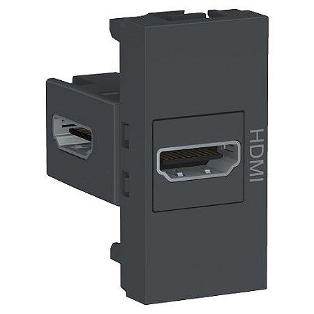 ORION MODULO TOMADA HDMI PRE-CABEADA 150MM P/2MOD. GRAFITE