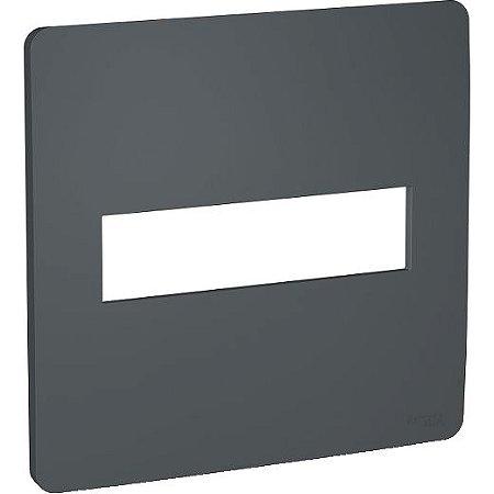 ORION PLACA ABS 4 X 4 P/2 MOD. ADJACENTES STELLAR BLACK