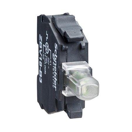 BLOCO LUMINOSO LED FLASH P/BOTAO  24VCA/VCC VM
