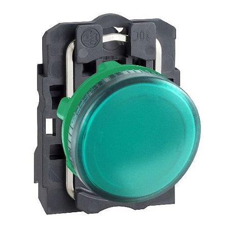 SINALEIRO PLAST. 22MM REDONDO P/LAMP. BA9S 0-250V VD