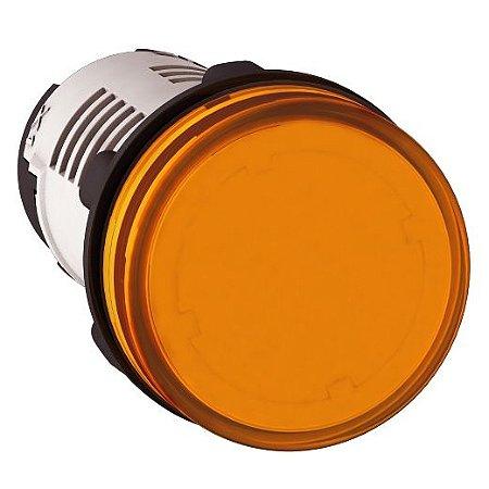 SINALEIRO PLAST. 22MM REDONDO C/LED 220V LJ ECON.