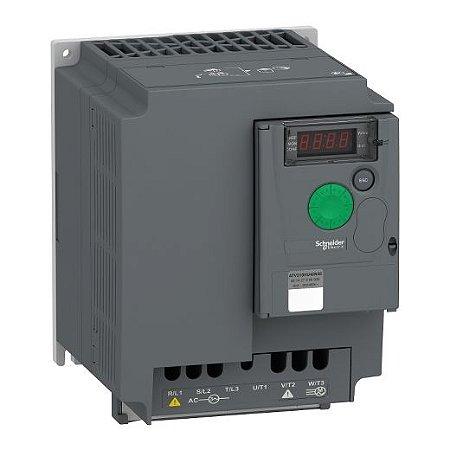 INVERSOR FREQ. ATV310 TRIF. 380-460VCA     5,00CV   12,60A S/FILTRO