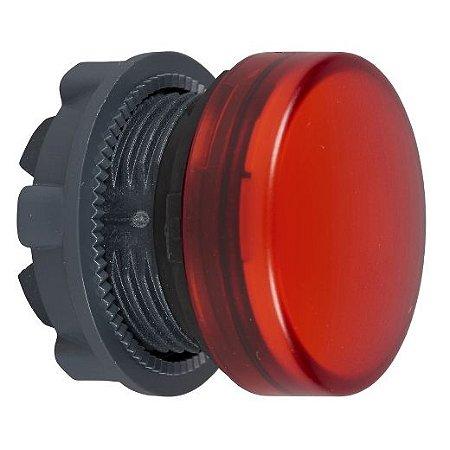 FRONTAL SINALEIRO PLAST. 22MM REDONDO P/LED VM