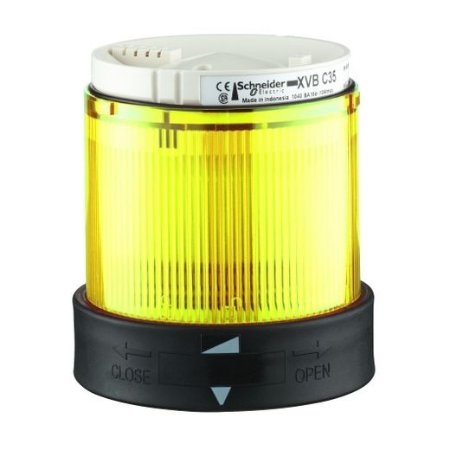 ELEMENTO LUMINOSO PISCA LED 24VCA/VCC AM IP65