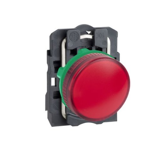 SINALEIRO PLAST. 22MM REDONDO P/LAMP. BA9S 0-250V VM