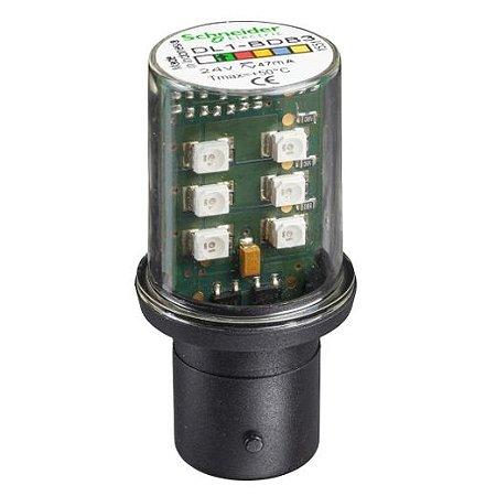 LAMP. LED 24VCA/VCC BA15D VD