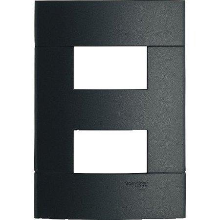 DECOR PLACA ABS 2 X 4 P/2 MOD. SEPARADOS ONIX