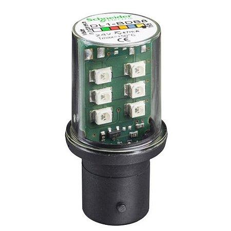 LAMP. LED 24VCA/VCC BA15D AM