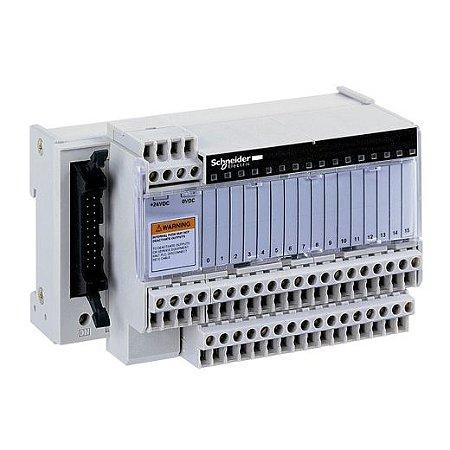 BASE P/RELE 16VIAS C/ LED