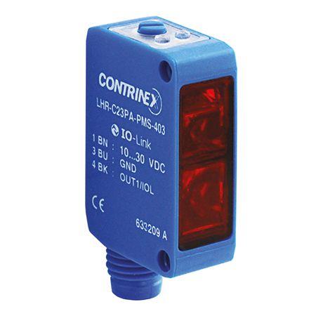 SENSOR FOT. PLAST. DIFUSO RETANG. DS:10-300MM PNP NA 3 FIOS 10-30VCC CONECTOR M8 3P C/BGS