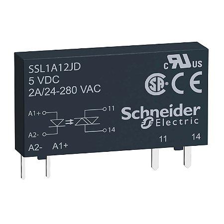 RELE ESTADO SOLIDO SSL1   2A ENT. 15-30VCC SAI. 24-280VCA