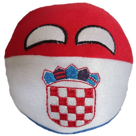 Croáciaball de Pelúcia - Countryball