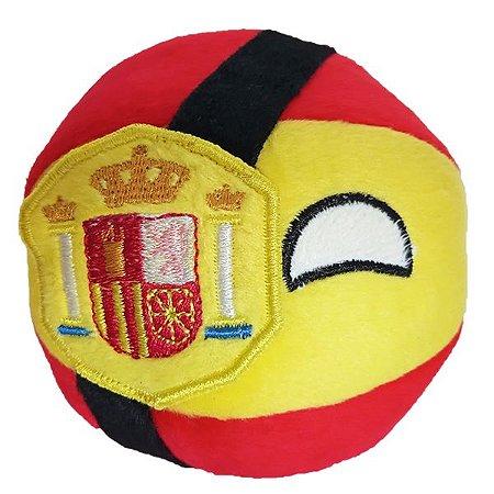 Espanha De Pelúcia Bolinha Espanhaball Countryball