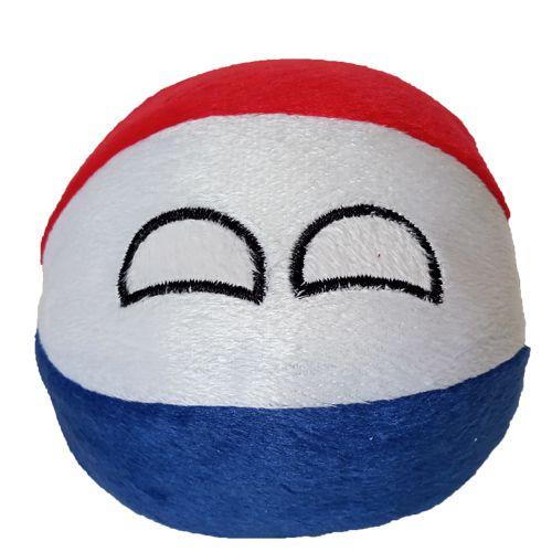 Holanda De Pelúcia Bolinha Holandaball Countryball