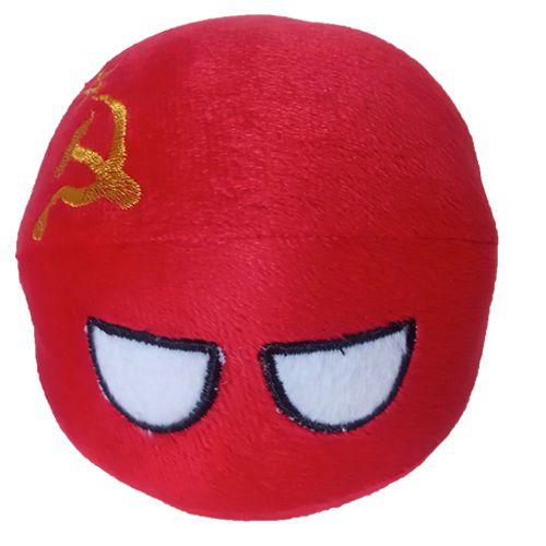 URSS De Pelúcia Bolinha URSSball União Soviética Countryball