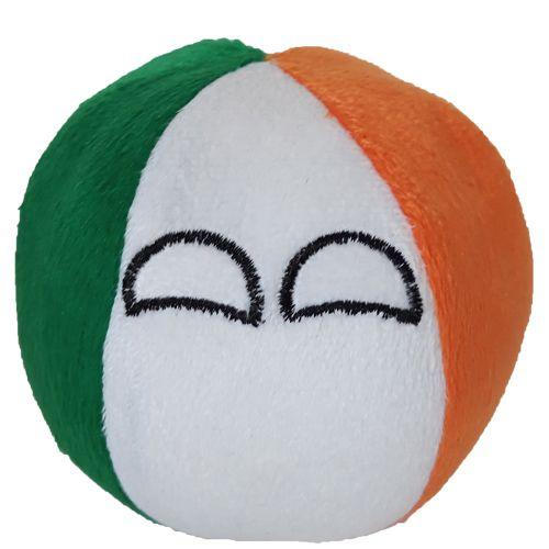 Irlanda De Pelúcia Bolinha Irlandaball Countryball