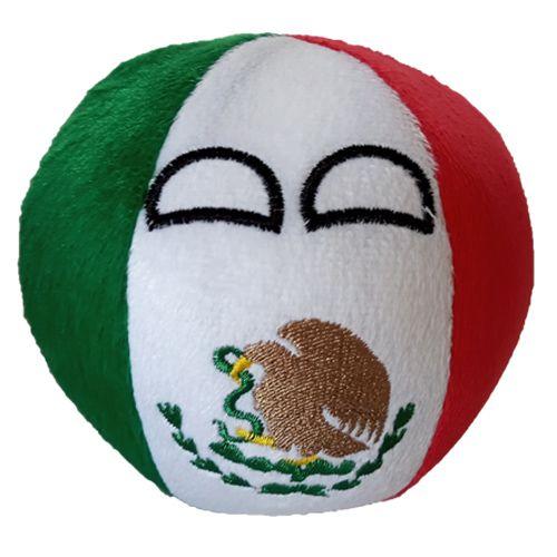 México De Pelúcia Bolinha Méxicoball Countryball
