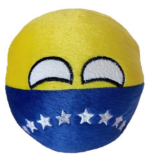 Venezuela De Pelúcia Bolinha Venezuelaball Countryball