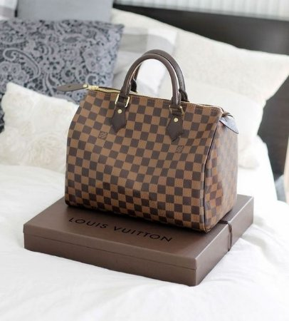 Bolsa Louis Vuitton Speedy Damier Ebene