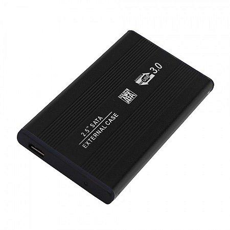 """Case para HD 2,5"""" Sata-USB 3.0"""