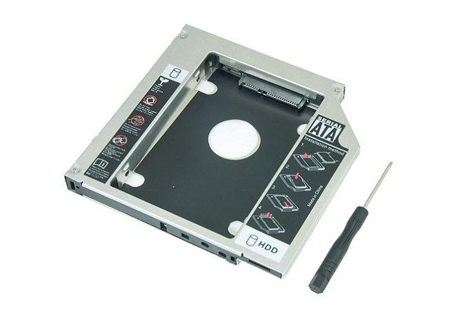 Adaptador Caddy Segundo Hd Ssd Notebook 9,5mm