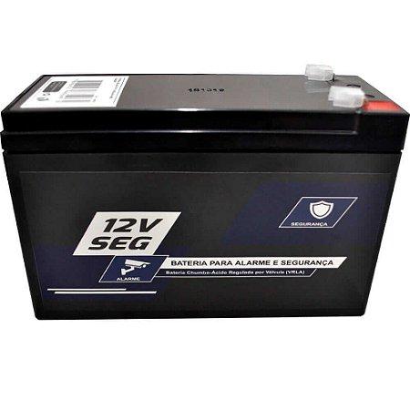 Bateria 12 V 7 Ah Para Central De Alarme Cerca Eletrica e CFTV