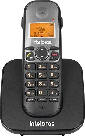 Telefone Ramal Sem Fio Digital Intelbras Preto Ts 5121Para P