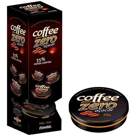Bala de café Zero Açúcar Diet Coffe Zero Display 10 unidades