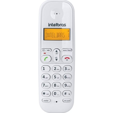 Telefone Sem Fio Digital Display TS3110 Branco Intelbras