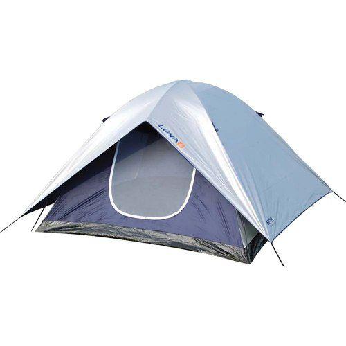 Barraca Camping Para 4 Pessoas Luna Mor Poliéster Sobre Teto