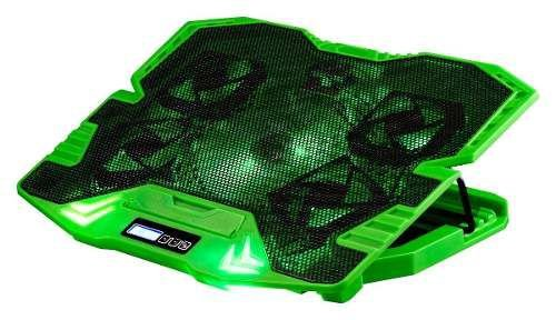 Cooler Fan Gamer 5 Fans Led Verde 3000rpm Multilaser Ac292