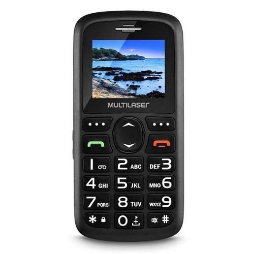 Celular Para Idoso Vita Multilaser P9048 Mp3 Radio Fm Sms