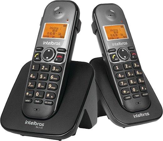 Telefone Sem Fio Intelbras TS 3112 Digital Com Ramal
