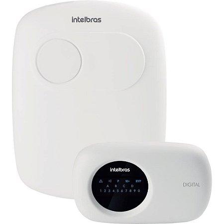 Central De Alarme Intelbras Ip GSM E Ethernet AMT 2118 EG 2 chips Monitorada