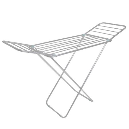 Varal De Chão Slim De Alumínio Com Abas  Reforçado MOR