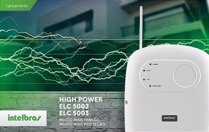 Central Segurança Cerca Elétrica Intelbras Hp Elc 5003
