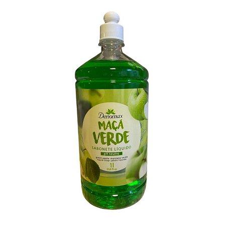 Sabonete Líquido Erva Doce Vini Lady Denomax Refil 1L mãos e corpo