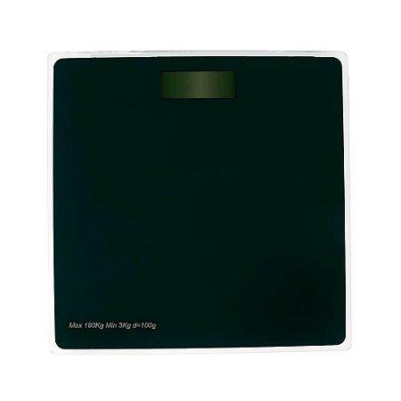 Balança digital de banheiro vidro academia corporal MOR 180 kg