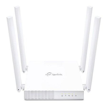 Roteador Repetidor Tp Link 4 Antenas Dual Band 750 Wi-Fi