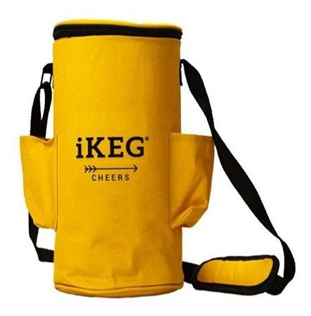 Kit Chopeira Preta com Bolsa Térmica  4 L iKEG