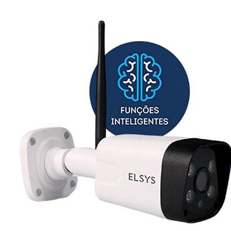 Câmera de Segurança Wi-Fi Externa Elsys com Infravermelho NF