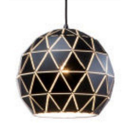 Luminária Lustre Pendente de Teto Metálico 20 cm Mori