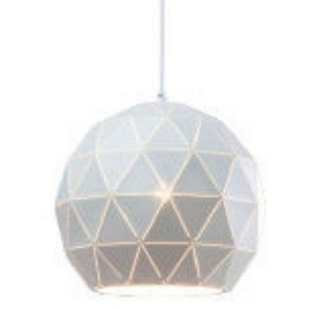 Luminária Lustre Pendente de Teto Metálico 30 cm Mori