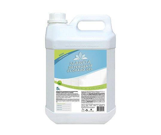Detergente Clorado Gel Mânoa 5L