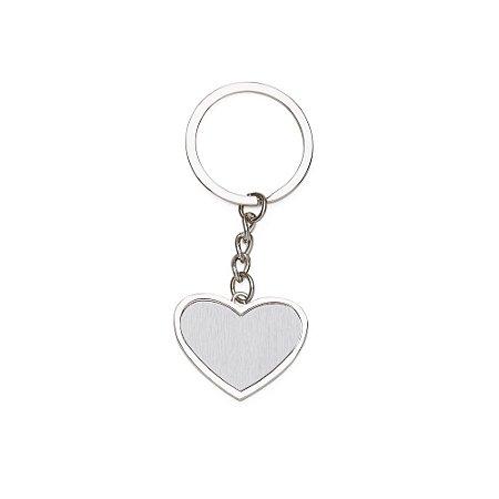 Chaveiro Metal Coração