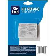Kit Reparo Adesivo com 10 Peças - Belfix