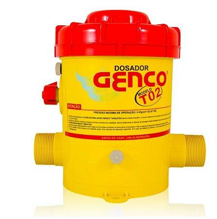 Dosador de Cloro Modelo T-02 - Genco