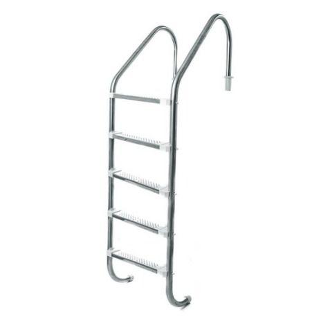 Escada de 5 Degraus Inox - LibraInox