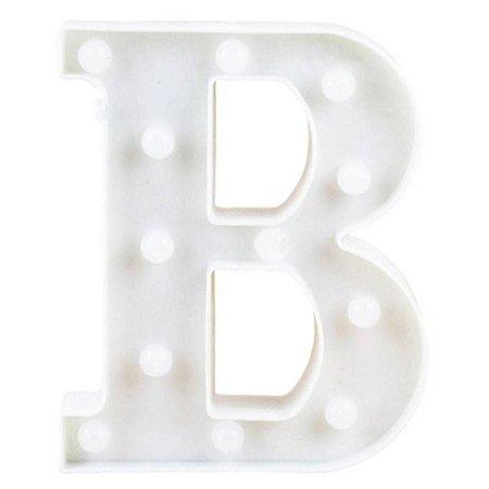 Letra de led B