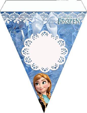Bandeirola Frozen